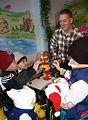Manas Airmen tend to children's cancer center needs