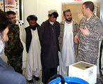 Team combats waterborne illness in Afghan province