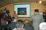 Kyrgyzstan parliament members visit Manas