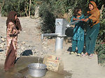 Well project brings water to Afghan villages