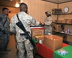Sather Airmen work late to feed the force