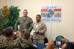 Marines celebrate Marine Corps' 233rd birthday at Manas