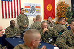 Marines celebrate Marine Corps' 233rd birthday at Manas
