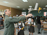 Airmen, Chilean school 'partner' to teach children aviation