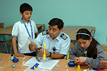 Airmen, Chilean school 'partner' to teach children aviation
