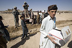 School supplies light up Afghan student's eyes