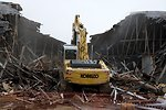 Y-12 Engineering Row Demolition
