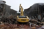 "First ARRA-Funded Demolition Takes Down Last Building in ""Engineering Row"""