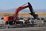 Hanford trench excavation