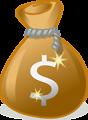 A bag of money