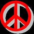 Illustration of a peace symbol