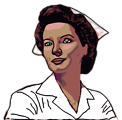 Illustration of a nurse