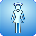 Illustration of a nurse symbol