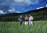 NRCS Soil Conservationist, Todd Bobowick and Alan