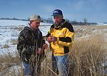 An NRCS District Conservationist and a Cass County
