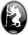 Illustration of a witch silhouette