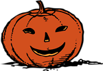 Illustration of a jack-o-lantern
