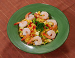 Entitled Spanish Paella, this dish is as delicious