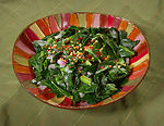 This image depicts a side dish entitled, Soulful G
