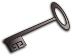 Illustration of a key