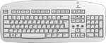 Illustration of omputer keyboard