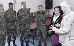 Afghan commanders visit chapel