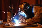 A job weld done