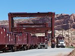 Gantry cranes at Moab