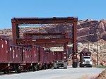 Gantry cranes at Moab