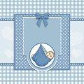 Baby boy card cute