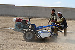 USAID funded two wheel tractor