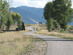 A multi-use pathway on the National Elk Refuge is