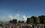 A 21-Gun Salute Fills the Sky as Taps Plays During 70th Anniversary of D-Day Commemoration