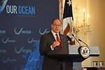 "Prince Albert II of Monaco Delivers Remarks at the ""Our Ocean"" Conference Lunch Discussion"