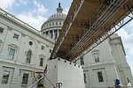 Capitol Dome Restoration - Scaffolding Work Early June 2014