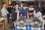To kick off Year 1 of EcoCAR 2, students attended