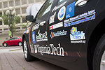 On June 12, 2014, all the EcoCAR 2 cars were on di