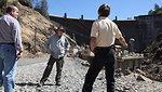 Corps reconnaissance team tours Yuba River