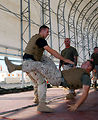 Airman participates in Marine Corps martial arts program