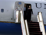 First lady visits Middle East