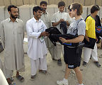 Volleyball unites Afghans, Americans
