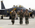 Fighter trio