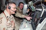 Airman among Marines