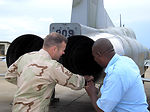 Air Force, Kenyan maintainers turn wrenches together