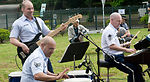 PACAF band plays music to help lift spirits