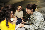 Airmen, Chileans treat patients in new expeditionary hospital