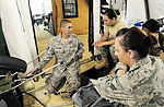 Airmen, Chileans treat patients at new expeditionary hospital