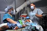 Medical team on the go
