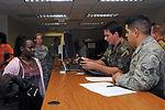 U.S. military helps Haitian students return home