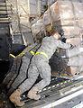 Charleston aerial porters load food, water for Haiti